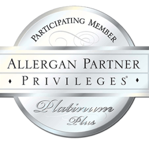 Image of Allergan Partner Privileges Platinum Plus Member Seal